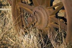 Close up ou tomada abstrata no vagão do vintage imagens de stock