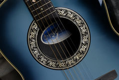 Close up of Ovation guitar Royalty Free Stock Photo