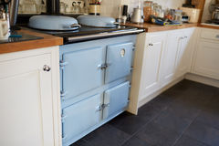 Close Up Of Oven In Contemporary Family Home Stock Images