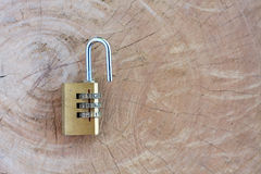 Close up pad lock Royalty Free Stock Image