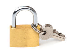 Close up padlock Royalty Free Stock Photography