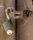 Close up of padlock Stock Image