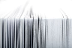 Close-up of pages Royalty Free Stock Images