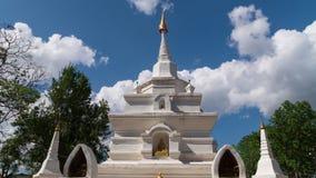 Pagoda of Wat Chan temple sunglasses temple , Kalayaniwattana District, Chiang Mai Thailand