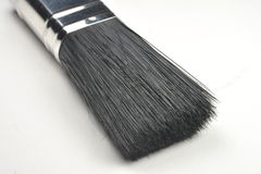 Close up of paint brush. A close up of paint brush bristle Stock Photos