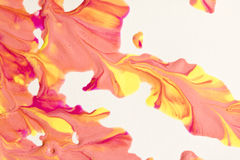 Close Up of Paint Splatters Stock Images