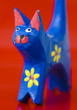 Close-up of painted cat 1 Stock Images