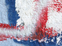 Close up of painted old wall Royalty Free Stock Photography