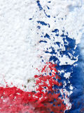 Close up of painted old wall Royalty Free Stock Image