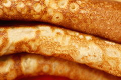 Close up of pancakes Royalty Free Stock Photo