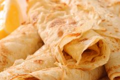 Close Up Pancakes Royalty Free Stock Photos