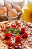 Close up of pancakes Royalty Free Stock Image