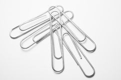 Close-up of  paper clips Stock Photo
