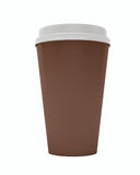 Close Up Paper Coffee Cup Royalty Free Stock Images