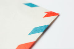 Close up of a paper Royalty Free Stock Images