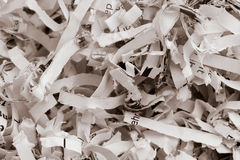 Close-up paper pulp Royalty Free Stock Photos