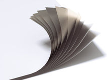 Close up of paper sheets Stock Photos