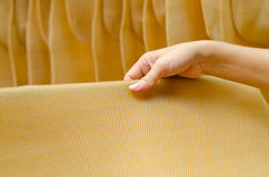 Close up of para rubber sheet Stock Images