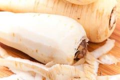 Close up parsnip Stock Photo