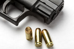 Gun and Bullets Royalty Free Stock Images