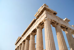 Close up Parthenon Royalty Free Stock Photo