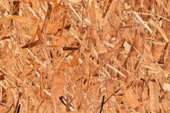 Close up of particleboard background texture surface pressed wood Royalty Free Stock Image