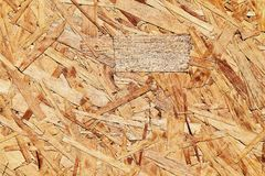 Close up of particleboard background texture surface pressed wood Stock Photos