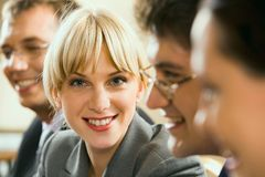 Close-up of partner Stock Photography