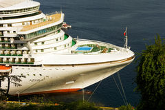 A close-up of passenger ship azura Royalty Free Stock Image