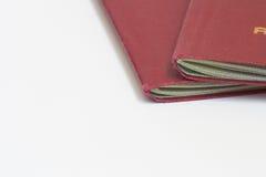 Close up passport Stock Images