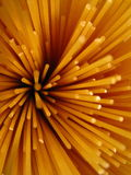 Close up of pasta noodles Royalty Free Stock Photography