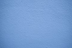 Pastel blue plastered wall texture background Royalty Free Stock Image