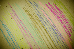 Close up of pastel lines Royalty Free Stock Photography