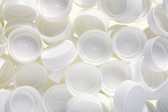 Plastic lids Stock Photography