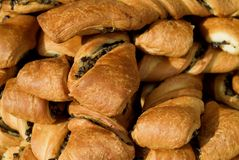 Close-up of pastries Royalty Free Stock Images