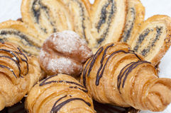 Close up of pastry Royalty Free Stock Photos
