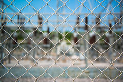 Close up pattern Barb Wire Royalty Free Stock Image