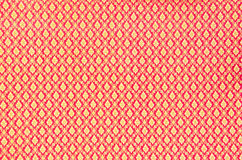 Close up pattern texture of general traditional thai style Stock Photography