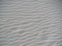 Close up of patterns in the sand Royalty Free Stock Photography