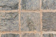 Close up of paving stone or facade tile texture Stock Photos