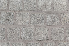 Close up of paving stone or facade tile texture Stock Photography