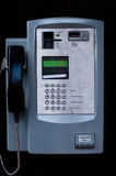 Close up of a Payphone Stock Photography