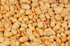 Close up of peanuts Royalty Free Stock Photo