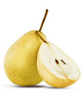 Close up of pear Royalty Free Stock Photos
