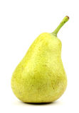 Close up Pear on a white background Stock Photos