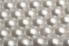 Close up of Pearls Stock Photography