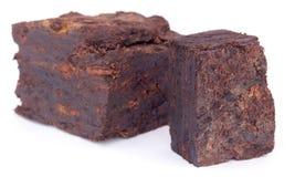 Close up of peat block Royalty Free Stock Photos