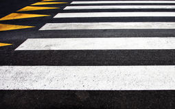 Closeup of pedestrian crossing Stock Image