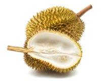 Close up of peeled durian Stock Photos