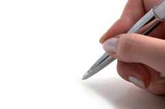 Close-up of a pen Royalty Free Stock Photo